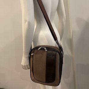 TUMI messenger bag with adjustable shoulder strap